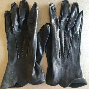 NATIVE DEERSKIN -vintage  leather gloves 7 1/2